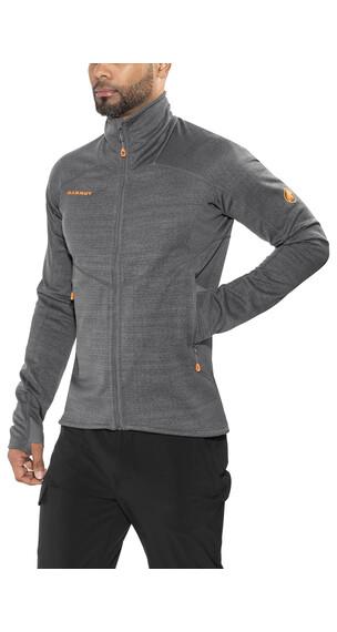 Mammut Eiswand Guide ML sweater Heren grijs